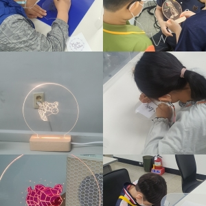 과학융합목공교실 ' LED무드등만들기'